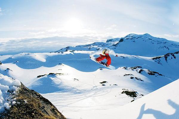 snowboard video